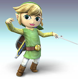 Toon Link SSBB SmashWiki The Super Smash Bros Wiki