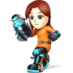 Mii Gunner SSB4 SmashWiki The Super Smash Bros Wiki