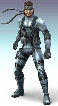Solid Snake SmashWiki The Super Smash Bros Wiki