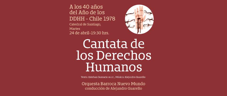 Cantata DDHH 2018