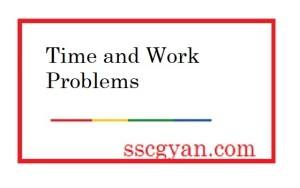 Time and Work Problems