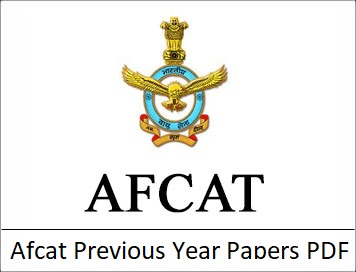Afcat Previous Year Papers
