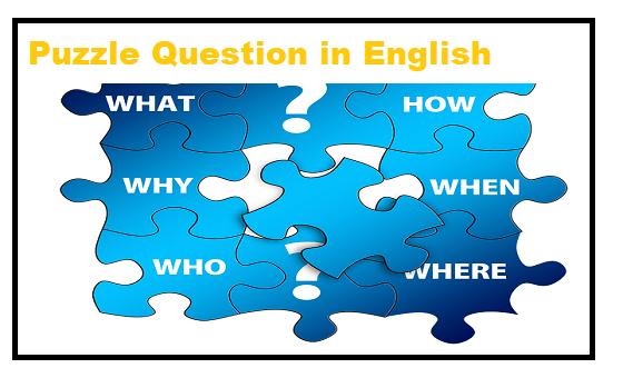 Puzzle Question in English