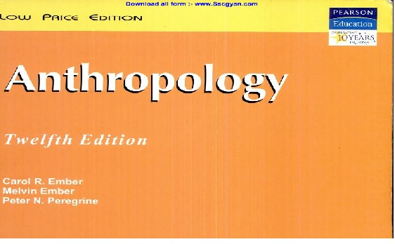 Ember and Ember Anthropology Book PDF