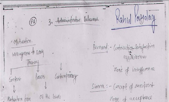 Public Administration Notes PDF