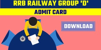 Railway-RRB-Group-D-Admit-Card-Download