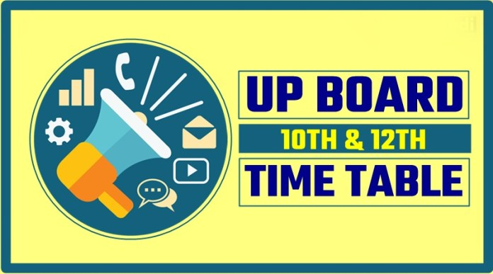 UP-Board-Highschool-Inter-Scheme-Time-Table-2019-10th-12th-Date-Sheet