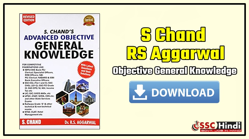 Advanced Objective General Knowledge By Rs Aggarwal Pdf