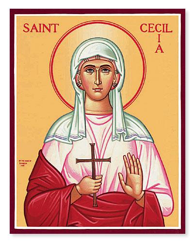 NOV 19 & 20: 27TH SUNDAY AFTER PENTECOST & COMMEMORATION OF ST. CECELIA