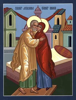 DEC 7 & 8: FEAST OF THE IMMACULATE CONCEPTION OF THE THEOTOKOS BY SAINT ANN (FR. RICK'S BAPTISMAL DAY)