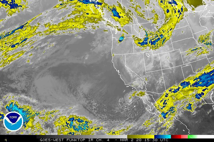West Goes Loop Satellite