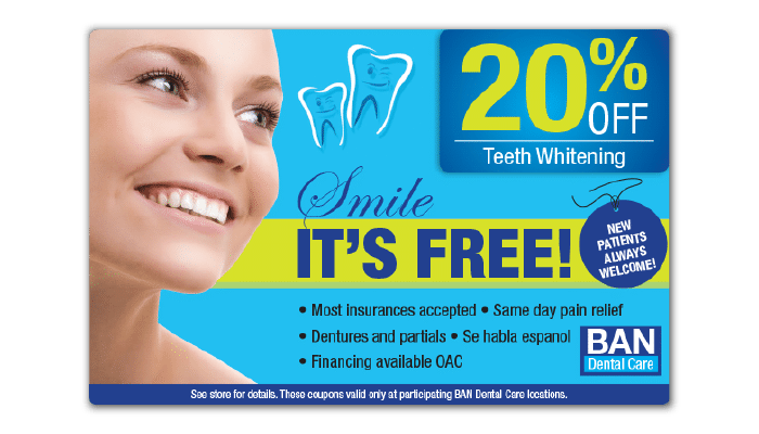 Dental Jumbo Postcard