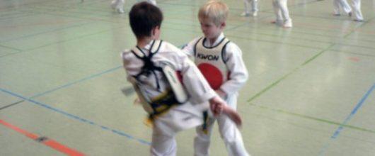 Selbstverteidigung im SSK-Taekwondo-Team