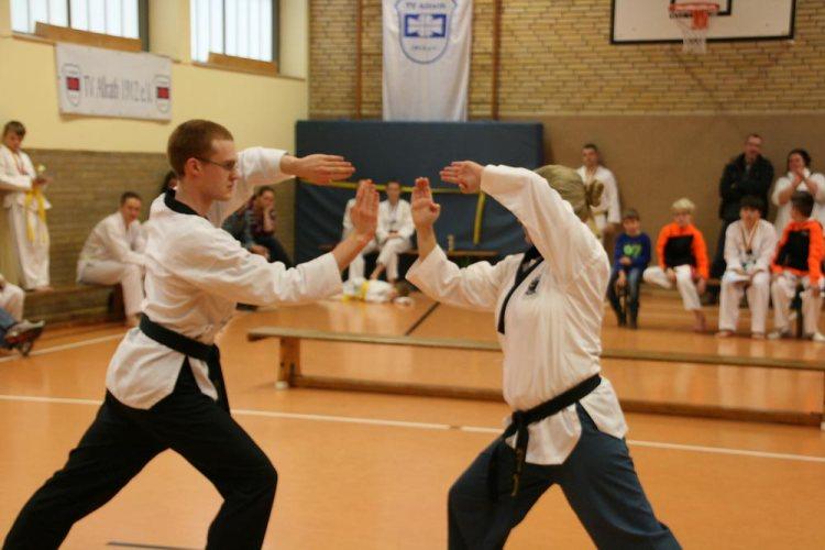 Taekwondo kerpen: Formenturnier Stadmeisterschaft in Allrath