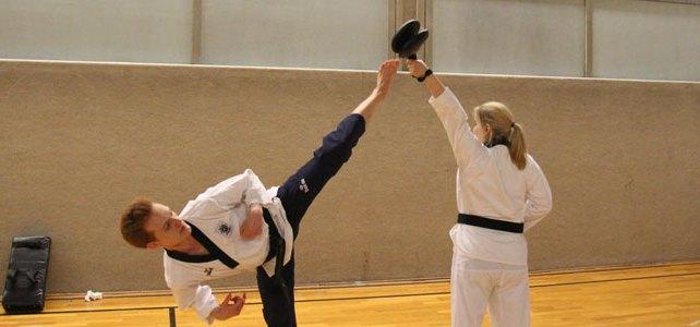 Das ist Taekwondo