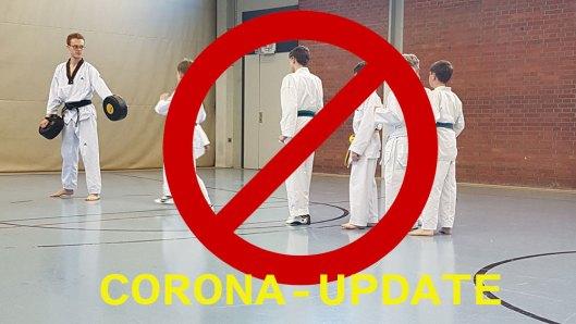 Taekwondo Kerpen. Kein Training wegen Corona-Lockdown