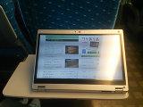 新幹線座席のCF-MX3 : チルトタブレット形態