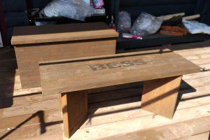 ついでにBESSベンチを再塗装