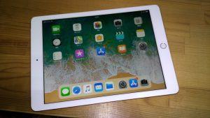無印iPad(9.7インチ・2018年版・Wi-Fi+Cellular、SIMフリー、32GB)