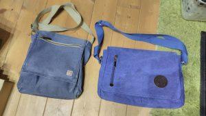 通勤バッグをひとまわり大きいのに新調(右)