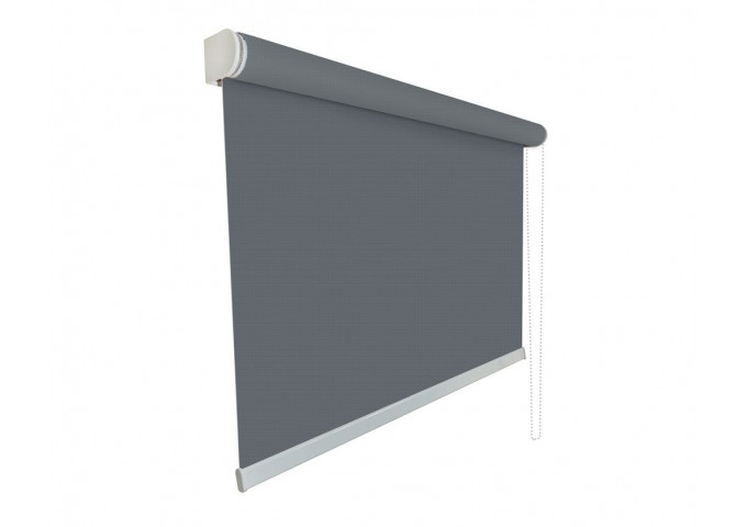 store enrouleur sur mesure screen tamisant 5 gris fonce
