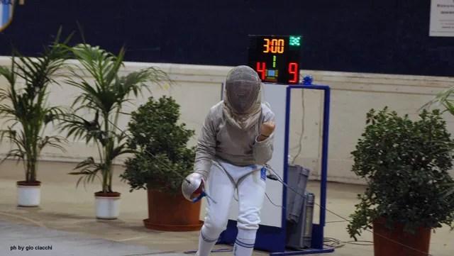 Martina Cotoloni si aggiudica la finale di Sciabola categoria Giovanissime