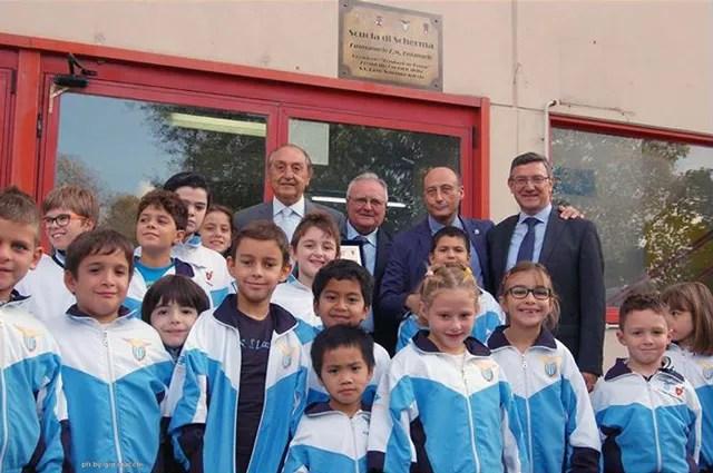 Intitolazione della Scuola di Scherma al Prof. Emmanuele F. M. Emanuele