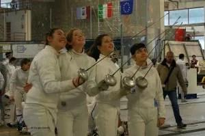Da sinistra:Sara Sorbello-Susan Sica - Sara Bellucci -  Costanza Colella
