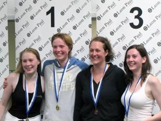 Eleonor Harvie GBR, Susan Maria Sica ITA, Verity Hillier GBR, Laura Donaghy IRL