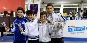 Alessio Aresu quinto classificato.