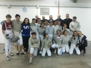 S.S. Lazio Scherma Ariccia and ZFencers- Picture of Miles Horca