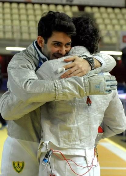 s.a 2013/2014 Coppa del Mondo Sciabola maschile a squadre - Trofeo Luxardo - Enrico Berrè e Aldo Montano - Foto Trifiletti/Bizzi