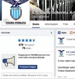"""Invita i tuoi amici a mettere """"MI PIACE"""" sulla pagina pubblica della S.S. Lazio Scherma Ariccia"""