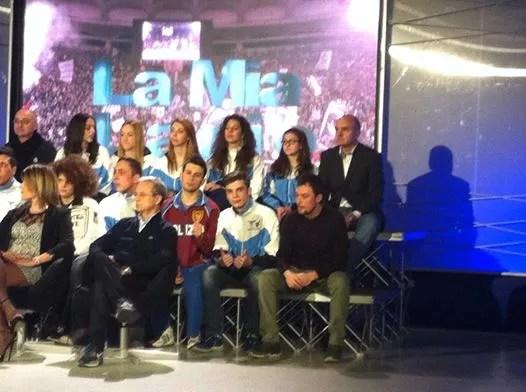 26.02.2015 La delegazione della S.S. Lazio Scherma Ariccia a GoldTv