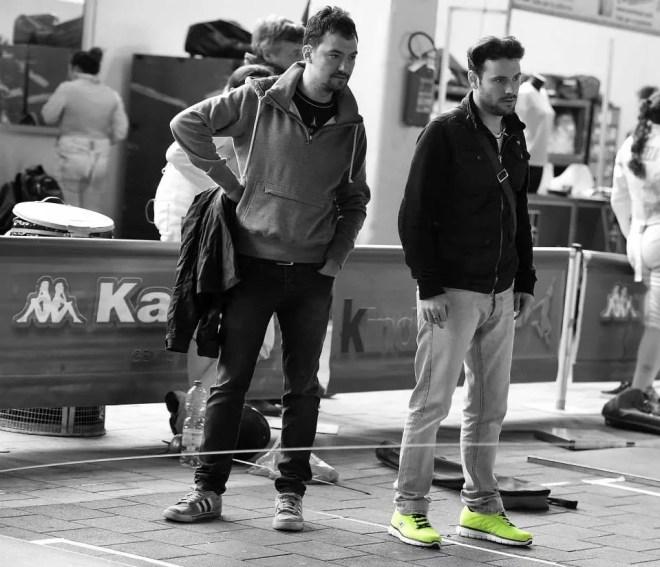 Caorle 17.04.2015 - Coppa Italia U20 (Fioretto)  Maestri... in bianco e nero. (Foto Bizzi per Federscherma)