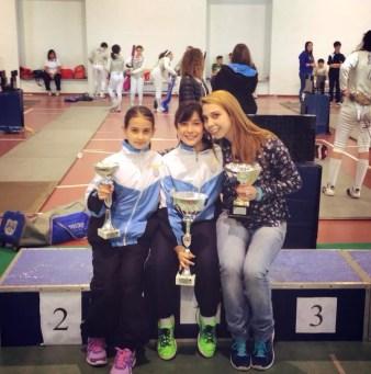 Campionato Regionale 23.05.2015 Romina Biaggi con Alessia Piccoli e Chiara Giansanti