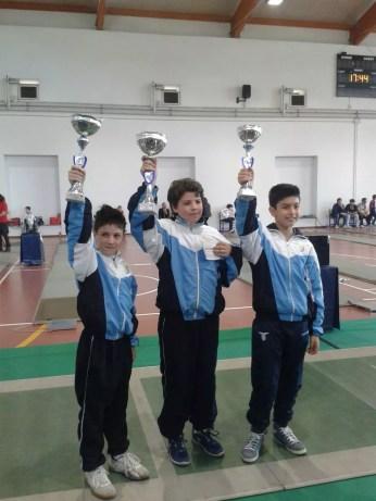 Campionato Regionale 23.05.2015 Andrea Mignucci, Federico Cuccioletta e Alessandro Perugini