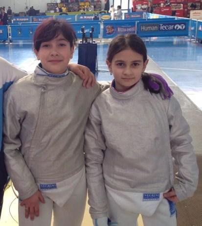 Riccione GPG 04.05.2015   Alessia Piccoli e Chiara Giansanti (foto M.Piccoli)