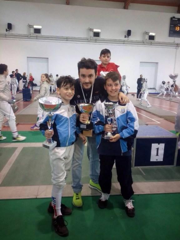Campionato Regionale 23.05.2015 Lorenzo Nini con Joel Ciani e Luca Carabella