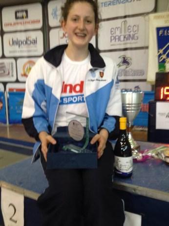 13.06.2015 Finalissima  Trofeo Comitato Regionale lazio Sara Bellucci