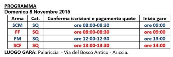 orari-gara-master-ariccia-8-novembre-2015