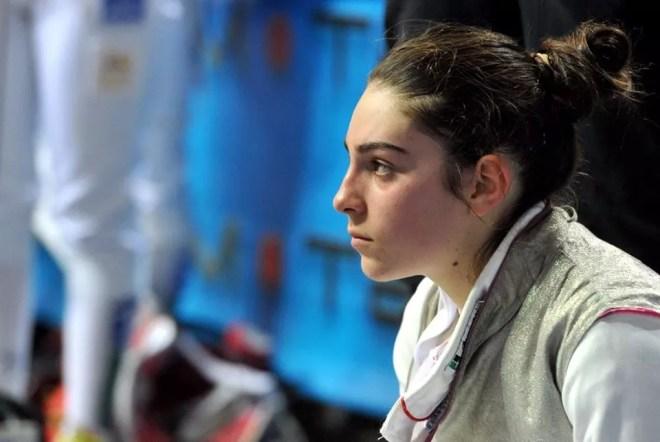 Montecatini 16.01.2016 2^ prova nazionale cadetti  Flaminia Gambino (foto Bizzi/Trifiletti per Federscherma)