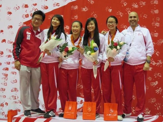 Giochi Asiatici 2016 La squadra di Singapore
