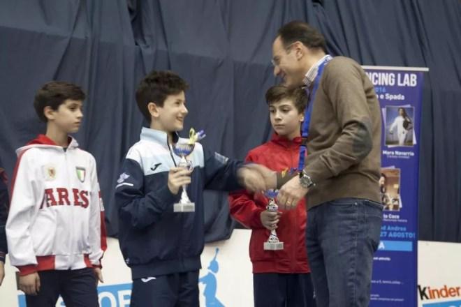 San Severo 06.03.2016  2^ prova nazionale Under 14 Andrea Mignucci (credit CS San Severo)