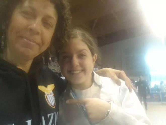 02.05.2016 Riccione GPG Selfie di Giovanna Ciacchi e Francesca Di Giulio