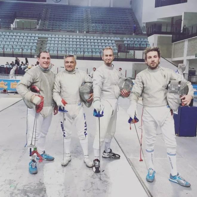 28.05.2016 Rimini Matteo Martini, Giustino Proietti, Mauro Mochi e Emanuele Romagnoli,  (foto Lucia)