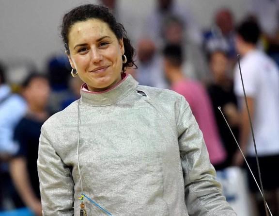 11.06.2016 Roma Campionati Italiani Assoluti Paola Guarneri (foto Bizzi per Federscherma)