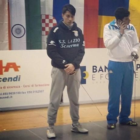 Pisa 21.01.2017 Torneo Internazionale cadetti Federico Colamarco  (foto F.Donzelli)