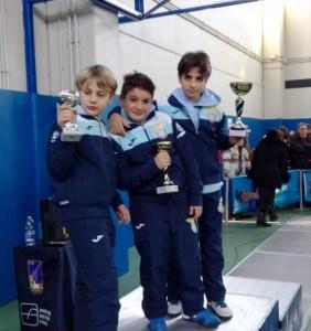 Bracciano 7 gennaio 2017 Jacopo Imbastari, Filippo Monteferri e Francesco Pagano