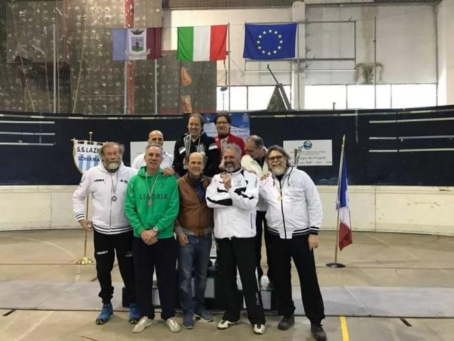 22 aprile 2017 Palariccia 6^ prova nazionale master  Spada maschile cat. 3 (foto C.Alfano)